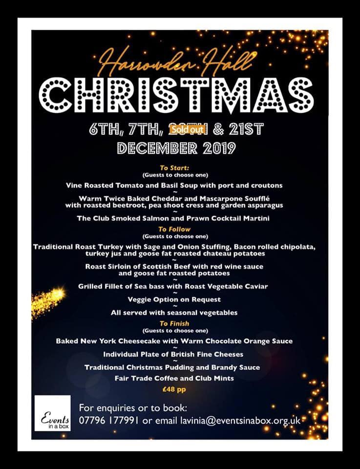 Christmas at Wellingborough Golf Club